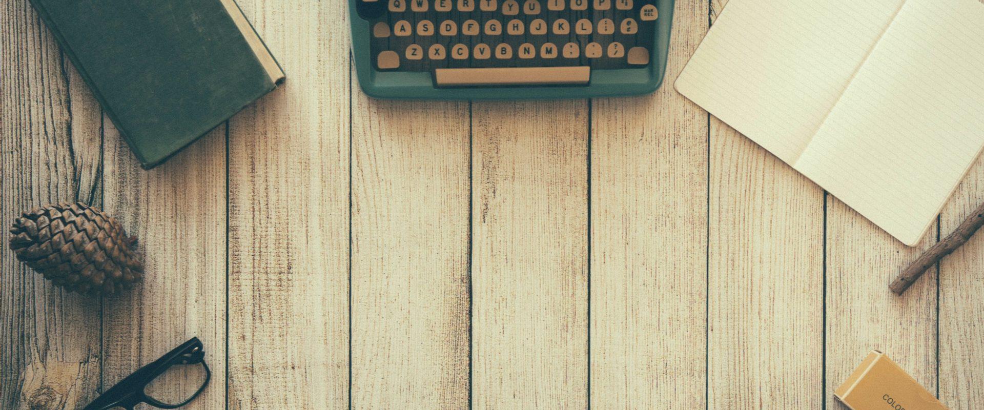 Typewriter © pixabay